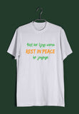 TV Series T-Shirt for Womens of The Year Mirzapur Rest kar lijiye warna Rest in peace ho jayenge Custom Printed Graphic Design T-Shirt for Women - Aaramkhor