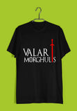 TV Series Games of Thrones (GOT) VALAR MORGHULIS Custom Printed Graphic Design T-Shirt for Women - Aaramkhor