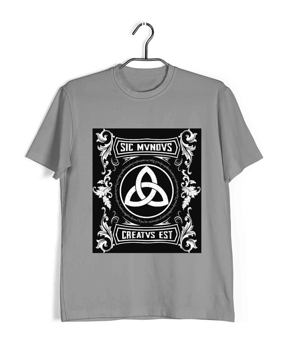 Light Grey  TV Series Dark SIC MUNDUS Custom Printed Graphic Design T-Shirt for Women