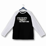 TV Series TV Series DRAGONGLASS Custom Printed Graphic Design Raglan T-Shirt for Women - Aaramkhor