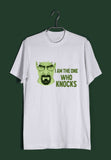 TV Series Breaking Bad I am the One Who Knocks Custom Printed Graphic Design T-Shirt for Women - Aaramkhor