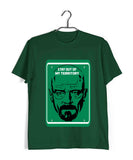 TV Series Breaking Bad Stay out of My Territory Custom Printed Graphic Design T-Shirt for Men - Aaramkhor