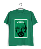 TV Series Breaking Bad Stay out of My Territory Custom Printed Graphic Design T-Shirt for Women - Aaramkhor
