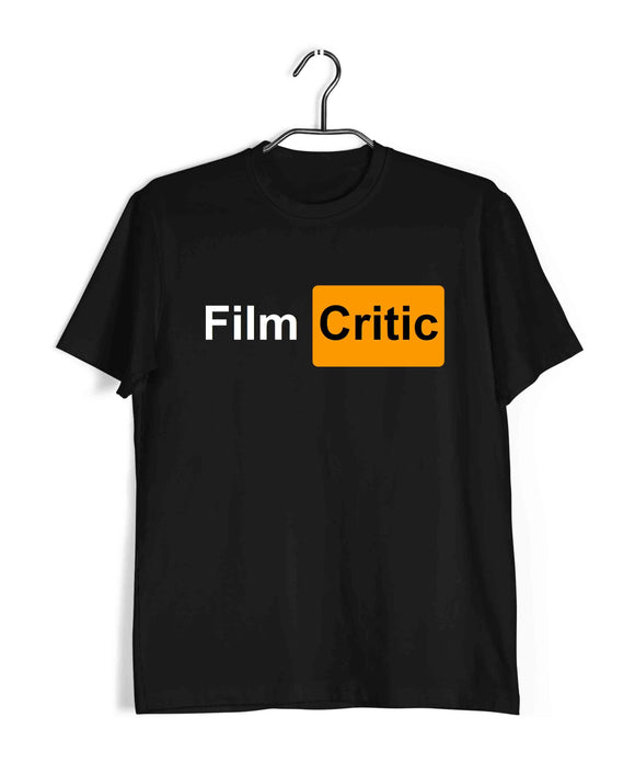 Black  Movies Aaramkhor Specials Film Critic Custom Printed Graphic Design T-Shirt for Men