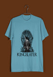 TV Series Games of Thrones (GOT) ARYA STARK KINGSLAYER Custom Printed Graphic Design T-Shirt for Men - Aaramkhor