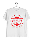 Biker Travel Wanderlust Royal Enfield Fans logo Custom Printed Graphic Design T-Shirt for Men - Aaramkhor