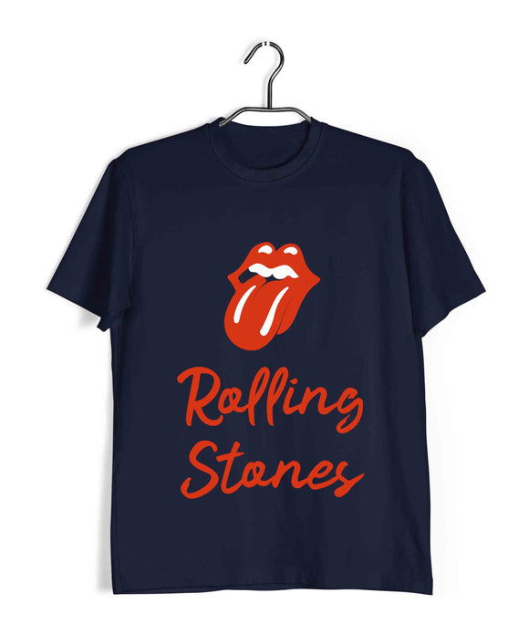 Music Rock Bands Classic Rolling Stones Custom Printed Graphic Design T-Shirt for Women - Aaramkhor