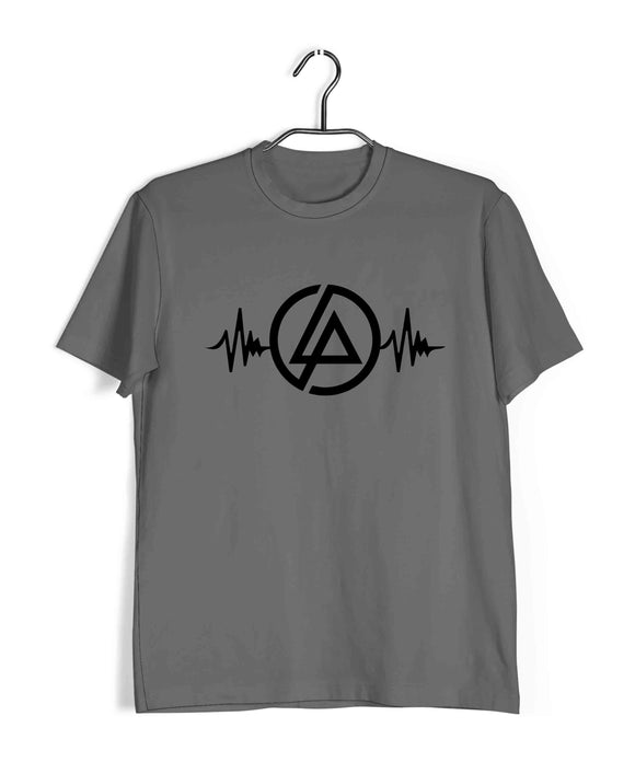 Music Rock Bands Linkin Park is Life Custom Printed Graphic Design T-Shirt for Men - Aaramkhor