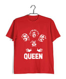 Music Rock Bands Classic Band Queen Custom Printed Graphic Design T-Shirt for Men - Aaramkhor