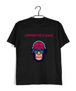 Music Rock Bands Comfortably Numb Custom Printed Graphic Design T-Shirt for Women - Aaramkhor