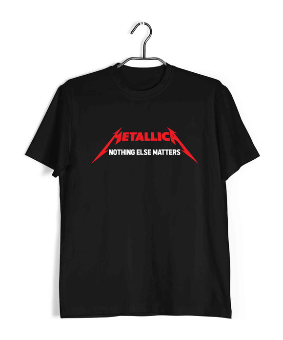 Music Metal Music Metallica Nothing Else Matters Custom Printed Graphic Design T-Shirt for Women - Aaramkhor