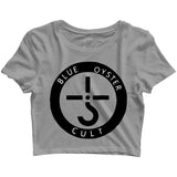 Music Rock Bands Blue Oyster Cult Custom Printed Graphic Design Crop Top T-Shirt for Women - Aaramkhor