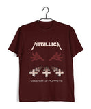 MUSIC Metallica  Custom Printed Graphic Design T-Shirt for Men - Aaramkhor