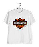 Biker Travel Wanderlust Harley Davidson Fans Custom Printed Graphic Design T-Shirt for Men - Aaramkhor