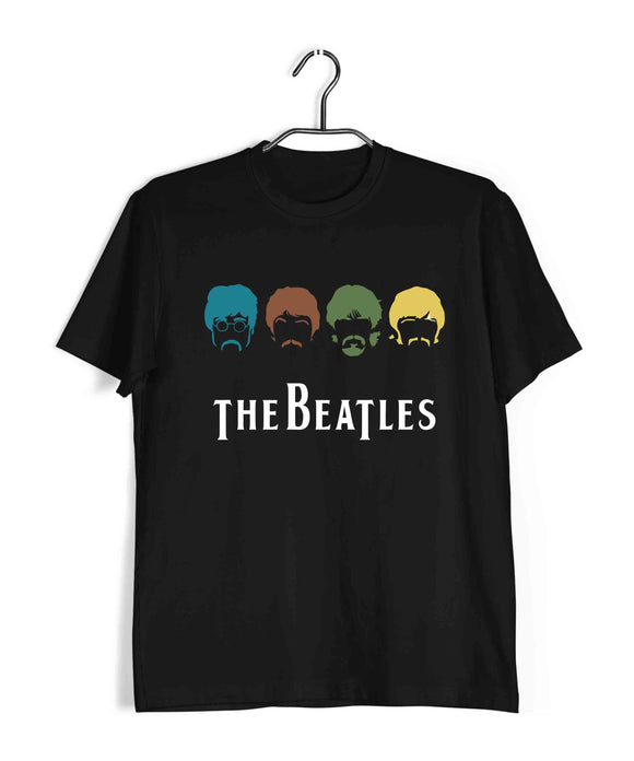 The Beatles Music Rock Bands The Beatles Custom Printed Graphic Design T-Shirt for Men - Aaramkhor
