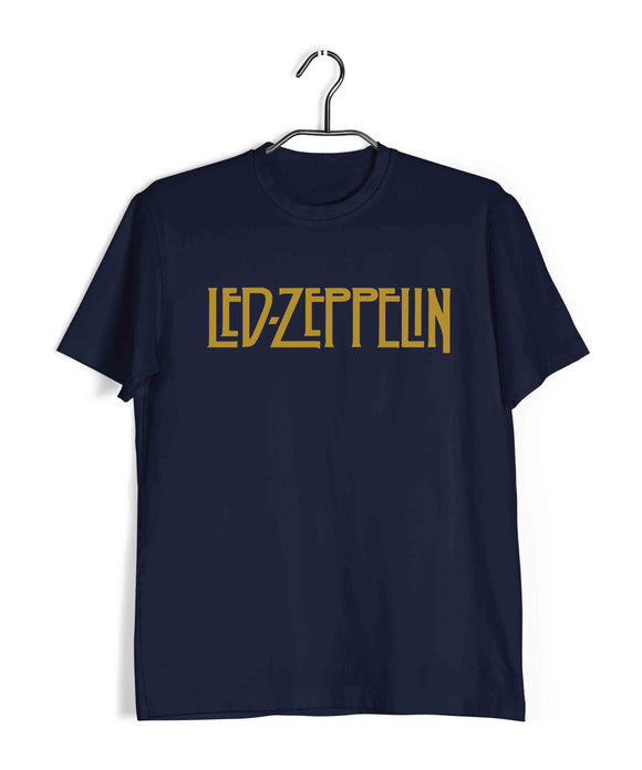 Led Zeppelin Music Rock Bands Led Zeppelin Custom Printed Graphic Design T-Shirt for Men - Aaramkhor