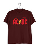 AC DC Music Rock Bands AC DC Custom Printed Graphic Design T-Shirt for Men - Aaramkhor