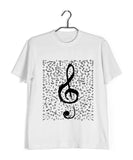 Music Classical Classical Music Design Treble Maker Custom Printed Graphic Design T-Shirt for Men - Aaramkhor