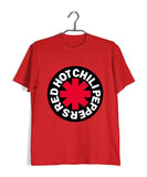 Red Hot Chilli Peppers Music Rock Bands Red Hot Chilli Peppers Logo Custom Printed Graphic Design T-Shirt for Women - Aaramkhor