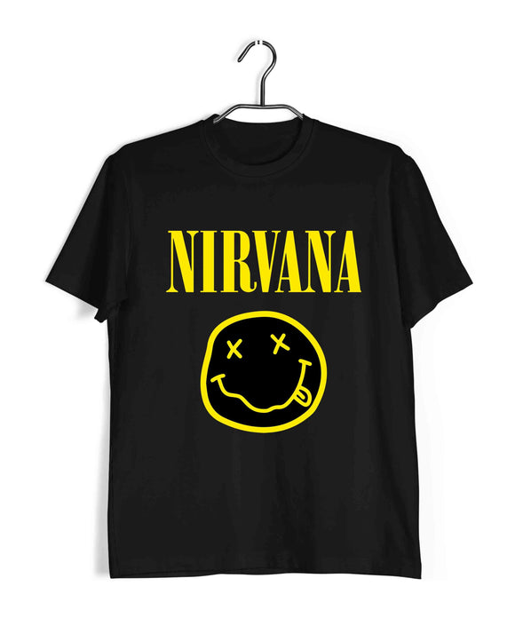 Nirvana Music Rock Bands Nirvana Custom Printed Graphic Design T-Shirt for Men - Aaramkhor