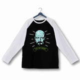 TV Series Breaking Bad Say My Name Heisenberg Custom Printed Graphic Design Raglan T-Shirt for Women - Aaramkhor