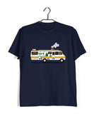 TV Series Breaking Bad The METH VAN Custom Printed Graphic Design T-Shirt for Women - Aaramkhor