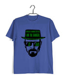 TV Series Breaking Bad Heisenberg I am the Danger Custom Printed Graphic Design T-Shirt for Women - Aaramkhor