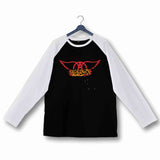 Aerosmith Music Rock Bands Aerosmith Custom Printed Graphic Design Raglan T-Shirt for Women - Aaramkhor
