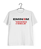 Music Artists EMINEM LOSE YOURSELF LYRICS Custom Printed Graphic Design T-Shirt for Women - Aaramkhor