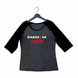 Music Artists EMINEM LOSE YOURSELF LYRICS Custom Printed Graphic Design Raglan T-Shirt for Women - Aaramkhor