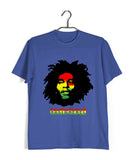 Music Artists BOB MARLEY RASTA REBEL Custom Printed Graphic Design T-Shirt for Women - Aaramkhor