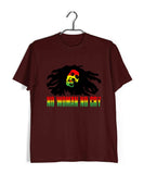 Music Artists BOB MARLEY NO WOMAN NO CRY Custom Printed Graphic Design T-Shirt for Men - Aaramkhor