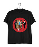 Comics Tintin FAMILY Custom Printed Graphic Design T-Shirt for Men - Aaramkhor