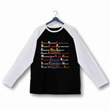 Comics TinTin CAPTAIN HADDOCK - A-Z SwearWords Custom Printed Graphic Design Raglan T-Shirt for Women - Aaramkhor