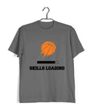 Sports Basketball BasketBall Skills Loading Custom Printed Graphic Design T-Shirt for Men - Aaramkhor