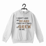 BeardPuns The classics Wordplay Beard MY BEARD GROWS ON ME UNISEX HOODIE Sweatshirts - Aaramkhor