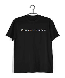 TV Series Friends Transponster Custom Printed Graphic Design T-Shirt for Men - Aaramkhor