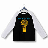 TV Series Pitchers Bulb Jalega Boss Custom Printed Graphic Design Raglan T-Shirt for Women - Aaramkhor