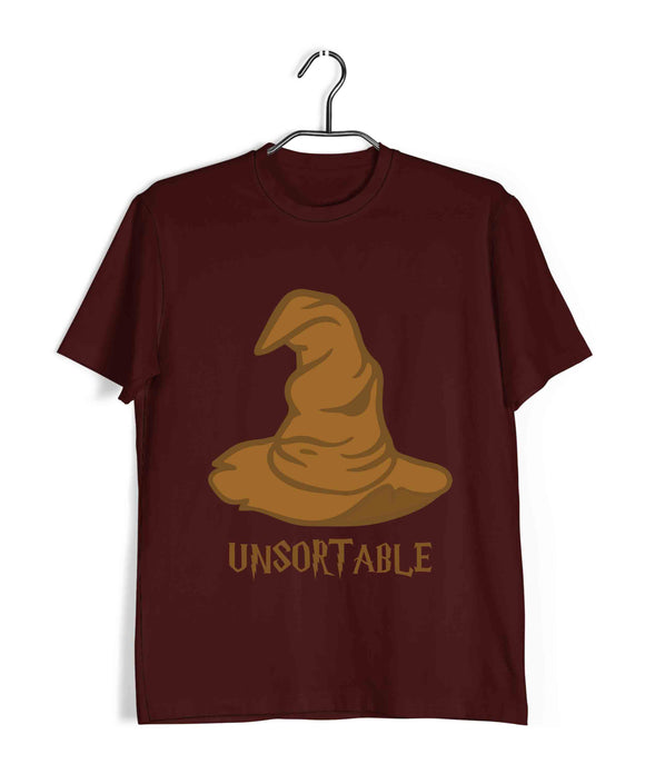 Books Harry Potter Unsortable Sorting Hat Custom Printed Graphic Design T-Shirt for Women - Aaramkhor