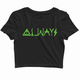Books Harry Potter SEVERUS SNAPE ALWAYS Custom Printed Graphic Design Crop Top T-Shirt for Women - Aaramkhor