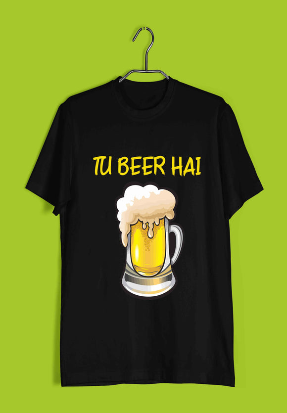 TV Series Pitchers Tu Beer hai Custom Printed Graphic Design T-Shirt for Men - Aaramkhor