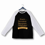 Books Harry Potter HOGWARTS - DRACO DORMIENS Custom Printed Graphic Design Raglan T-Shirt for Women - Aaramkhor
