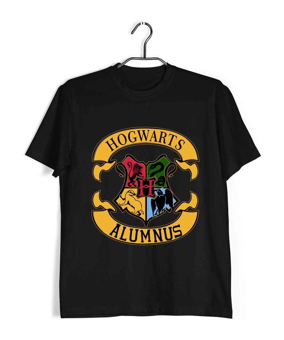 Books Harry Potter HOGWARTS ALUMNUS Custom Printed Graphic Design T-Shirt for Women - Aaramkhor