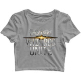 Books HARRY POTTER WIZARDS UNITE Custom Printed Graphic Design Crop Top T-Shirt for Women - Aaramkhor