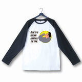 TV Series Seinfeld KRAMER  Custom Printed Graphic Design Raglan T-Shirt for Women - Aaramkhor