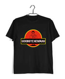 TV Series Seinfeld GOODBYE NEWMAN JURASSIC PARK Custom Printed Graphic Design T-Shirt for Women - Aaramkhor