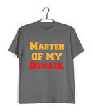 TV Series Seinfeld MASTER OF MY DOMAIN Custom Printed Graphic Design T-Shirt for Women - Aaramkhor