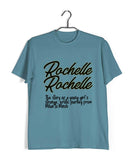 TV Series Seinfeld ROCHELLE ROCHELLE Custom Printed Graphic Design T-Shirt for Men - Aaramkhor
