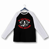 John Wick Movies Hollywood IF YOU WANT PEACE PREPARE FOR WAR JOHN WICK Custom Printed Graphic Design Raglan T-Shirt for Women - Aaramkhor