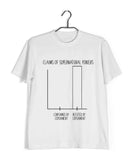 Nerd SCIENCE PREVAILS Custom Printed Graphic Design T-Shirt for Men - Aaramkhor